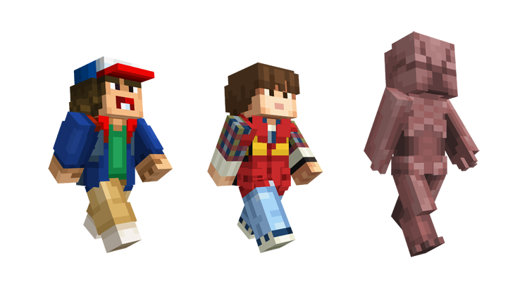 Stranger Things Skin Pack For Minecraft Is The Only Way To Bring - Skins para minecraft pc demo