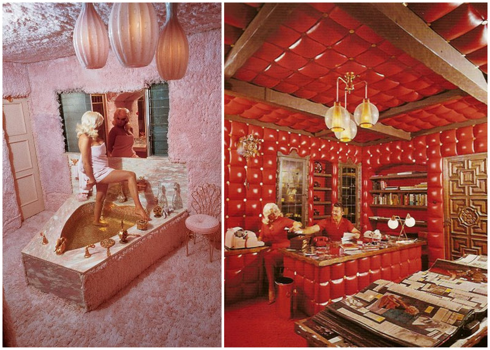 Jayne Mansfield's 'Pink Palace' - Curbed LA