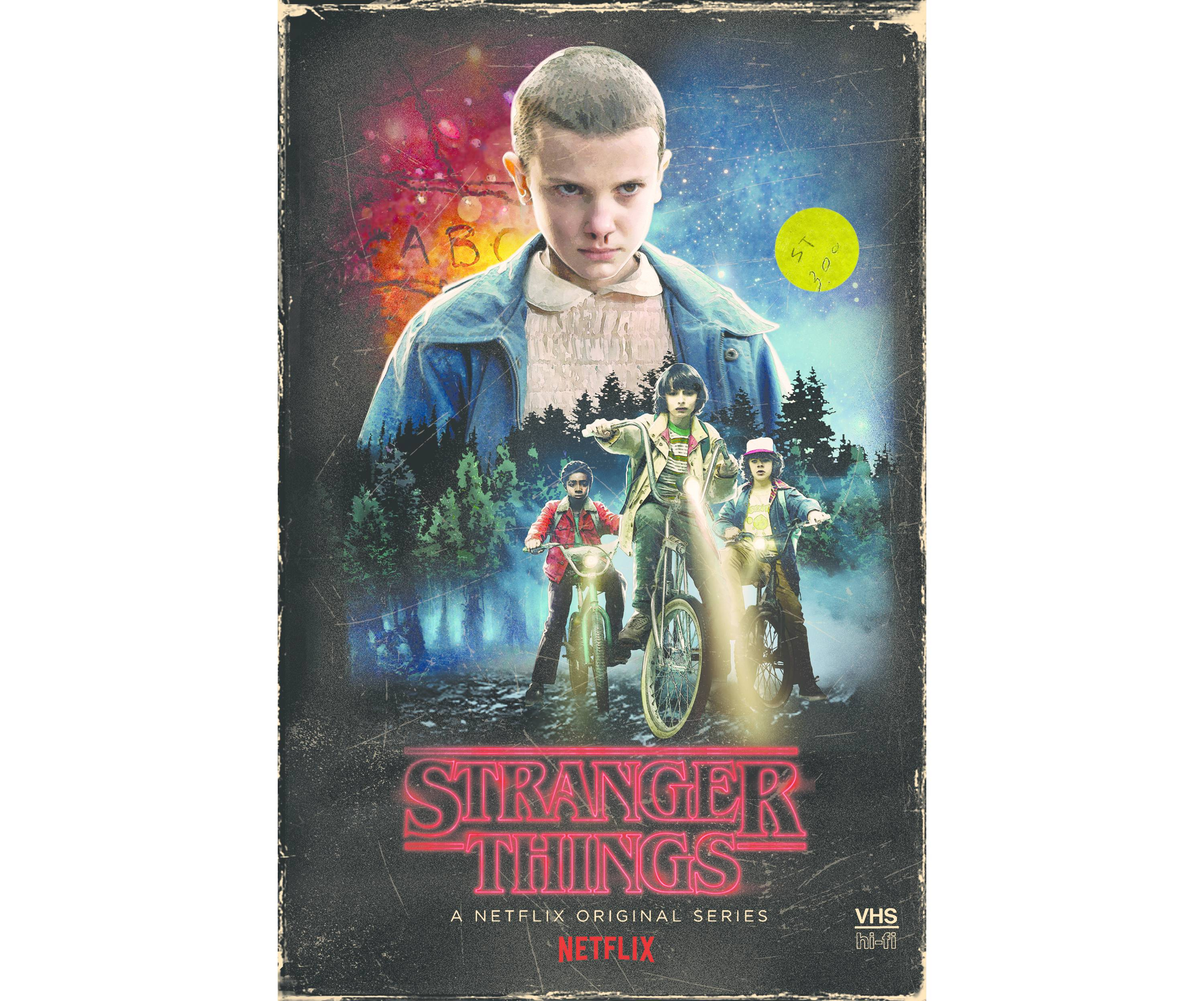 This Stranger Things DVD looks like an old VHS tape - The Verge