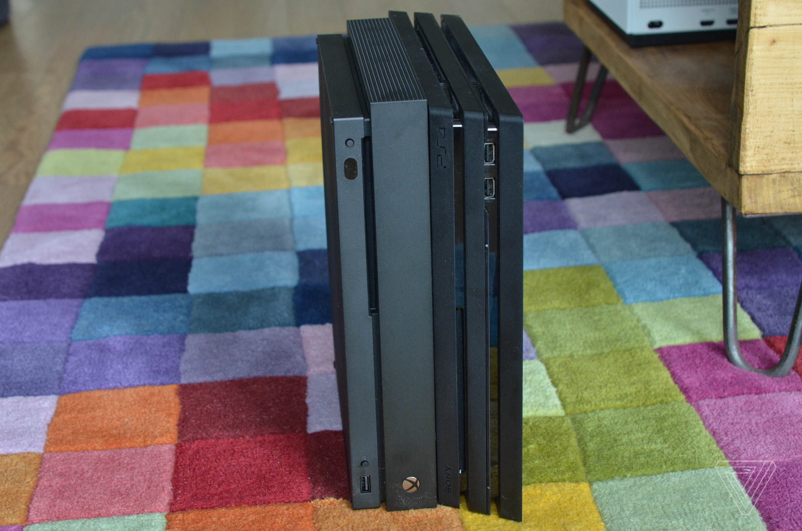 PS4 Pro vs  Xbox One X in pictures - The Verge