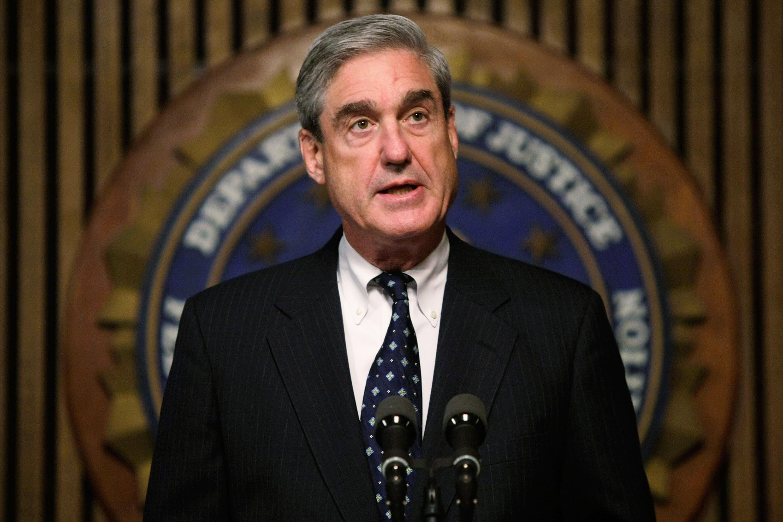 FBI Director Robert Muller Holds News Conference
