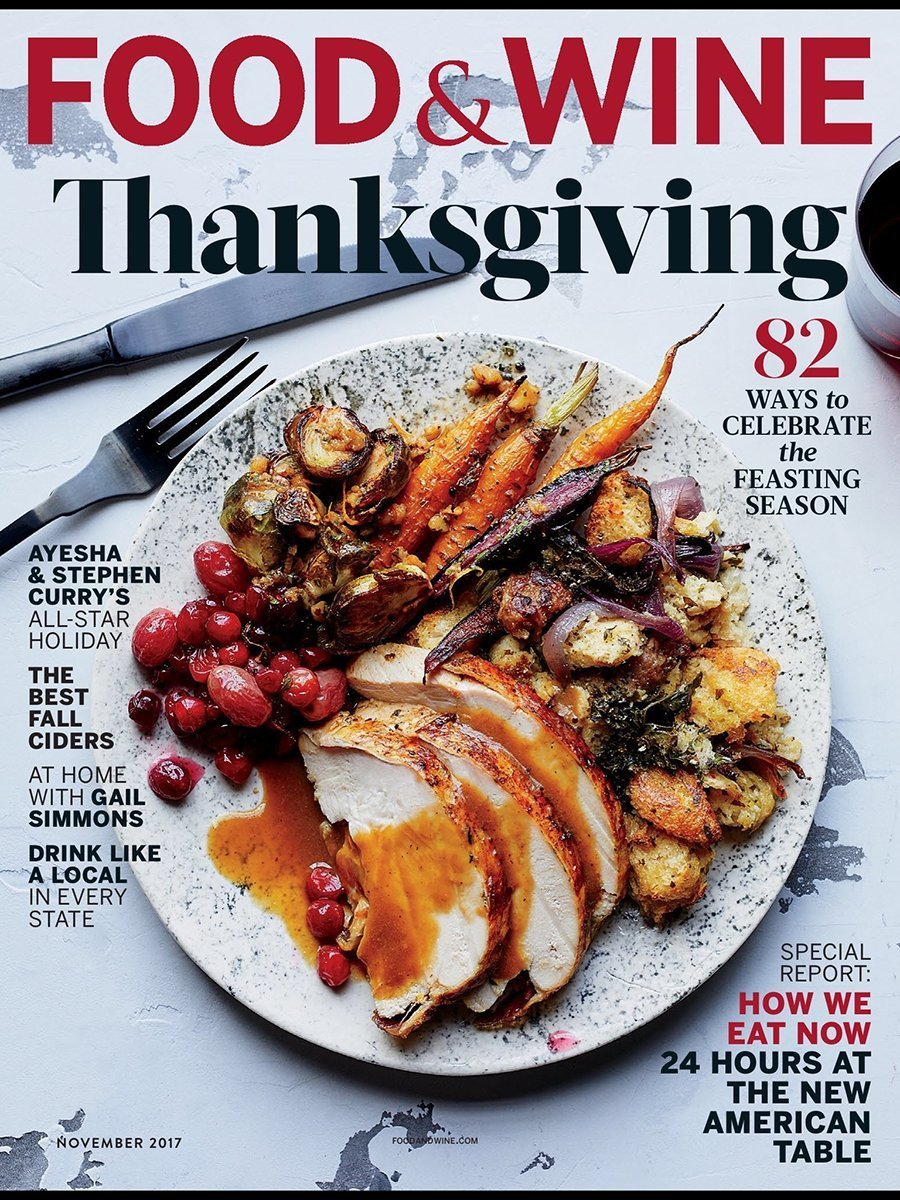 Food And Wine Thanksgiving  Magazine
