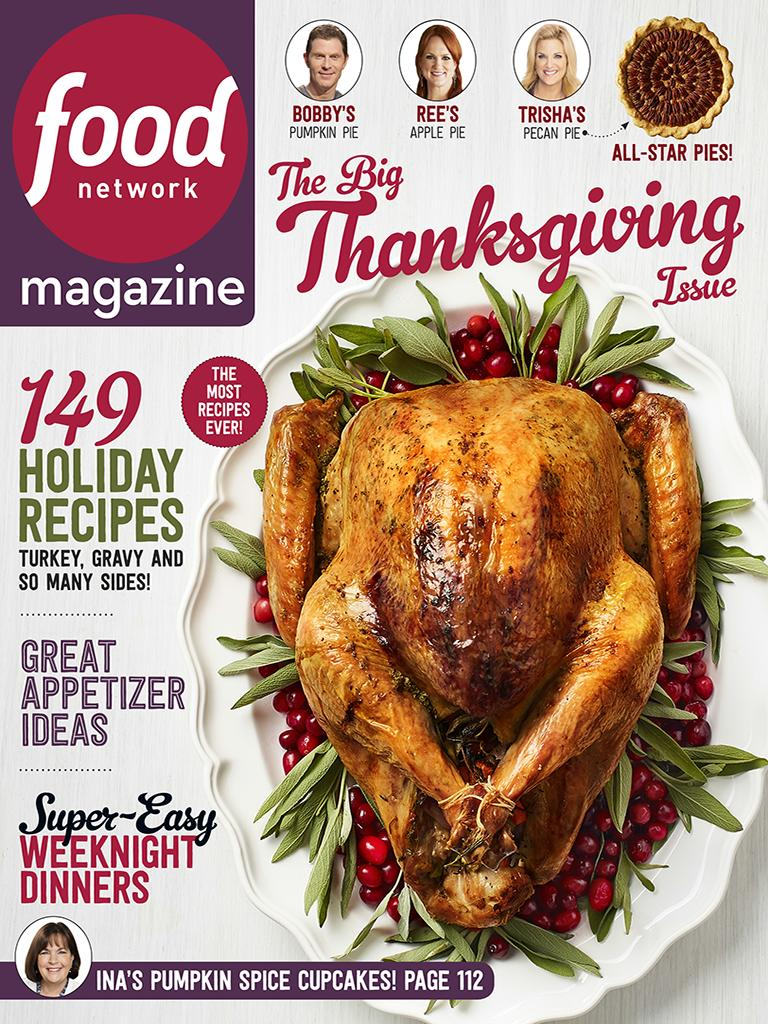 Which food magazine has the best thanksgiving cover eater food network magazine forumfinder Images