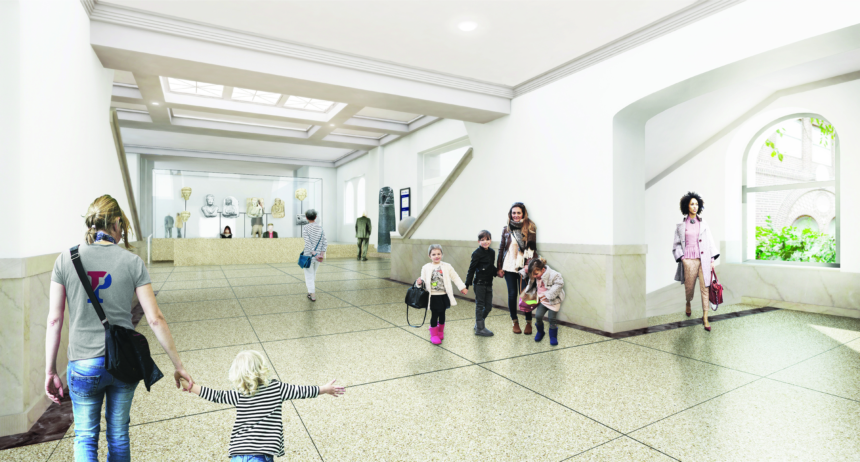 Penn Museum begins dramatic renovation, first in nearly 100 years