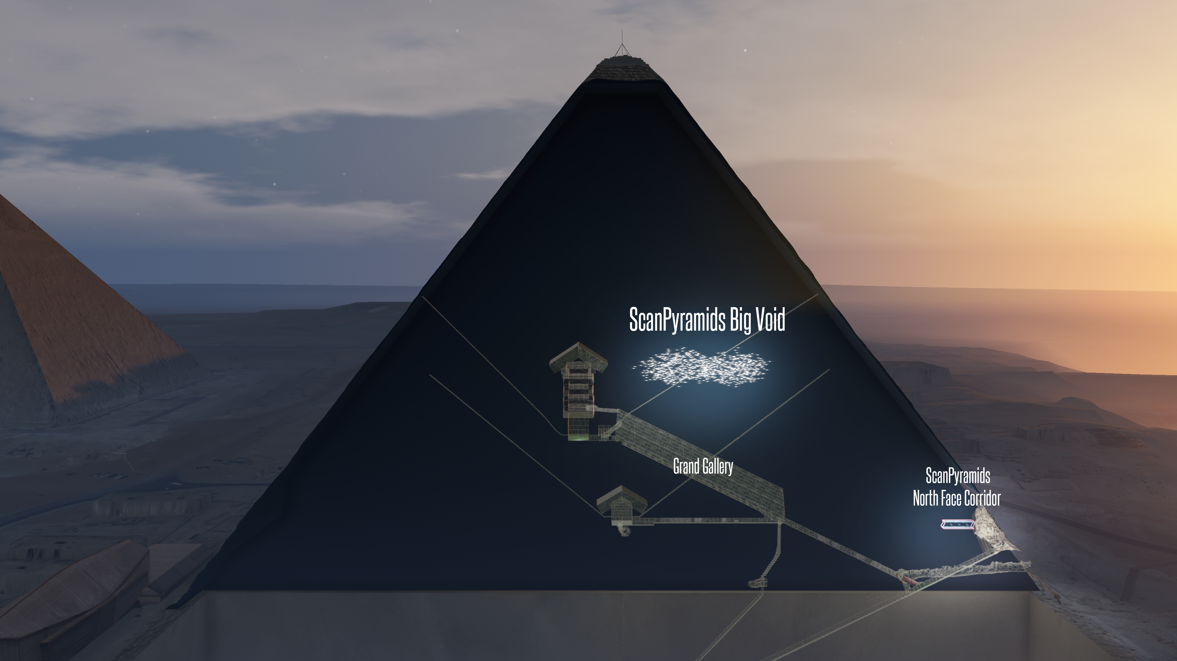 Great Pyramid: Scientists found a mysterious void inside using cosmic rays - Vox