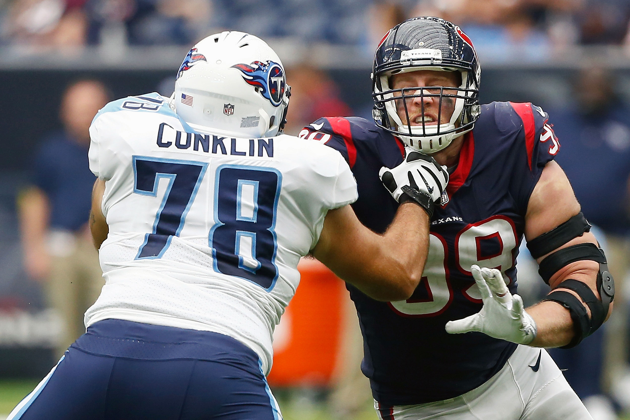 Jack Conklin and J.J. Watt