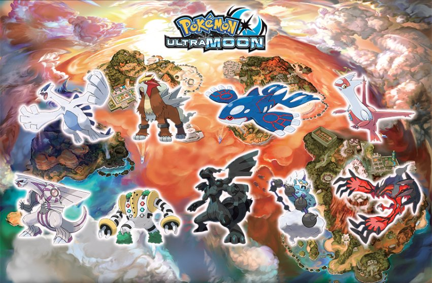 Image result for pokemon ultra sun and moon stickers