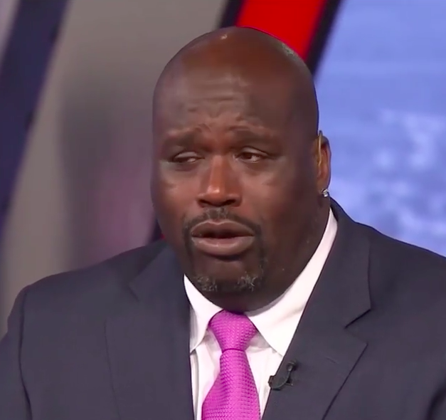 Shaq bet he wouldn't make a face on the 'One Chip Challenge.' Let's see how that went.