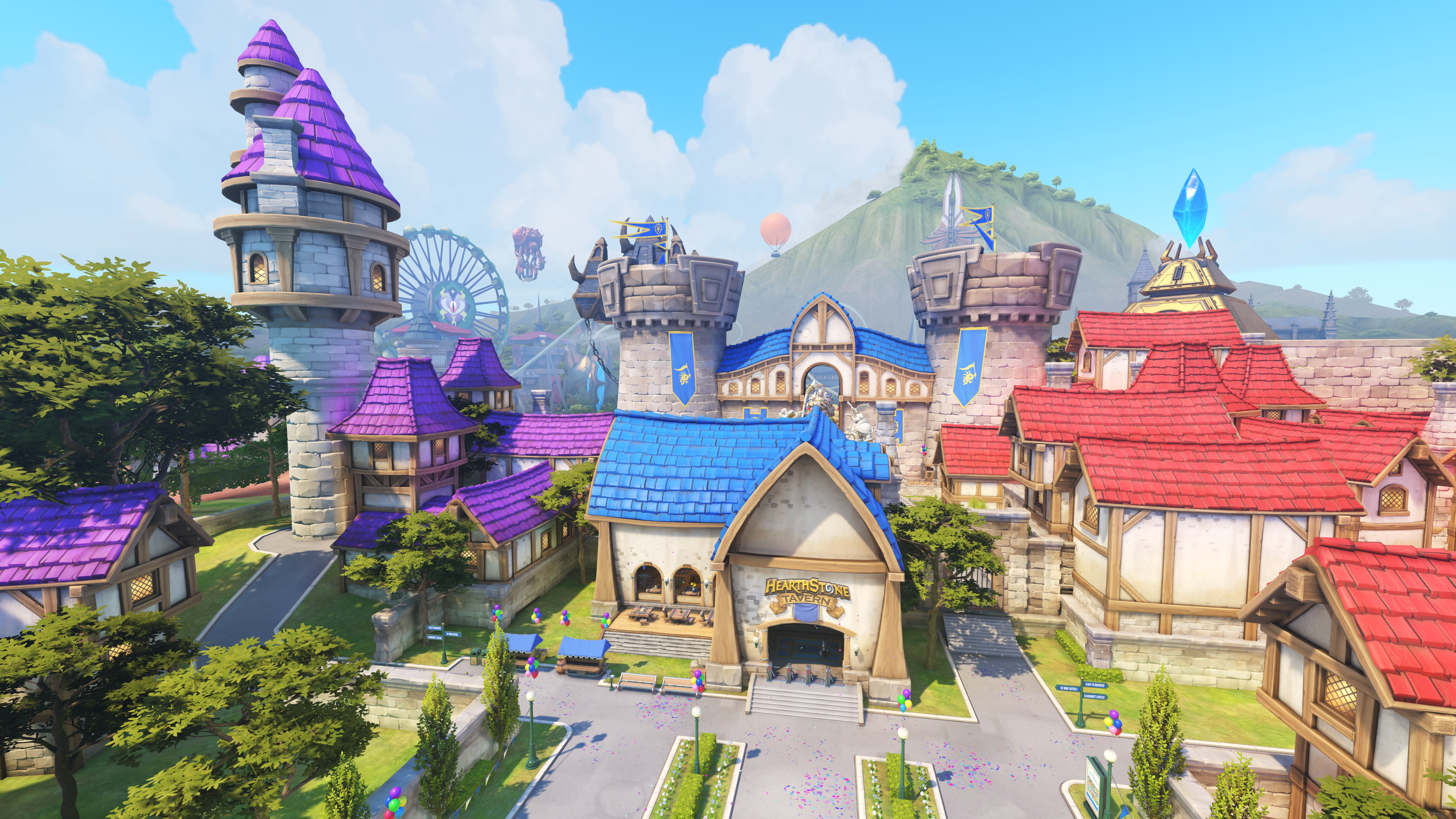 New Overwatch Map Is A Blizzard Theme Park Blizzard World Update