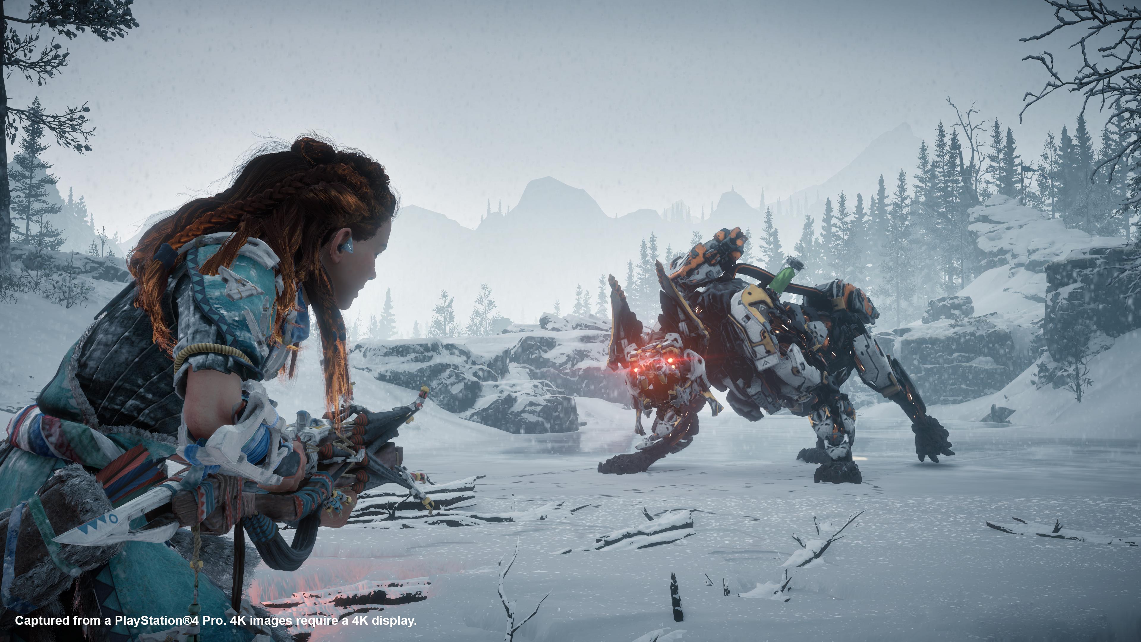 Los nuevos enemigos de The Frozen Wilds no nos lo van a poner nada sencillo