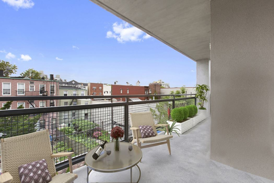 For 984k an industrial chic williamsburg condo with a for 11 terrace place brooklyn