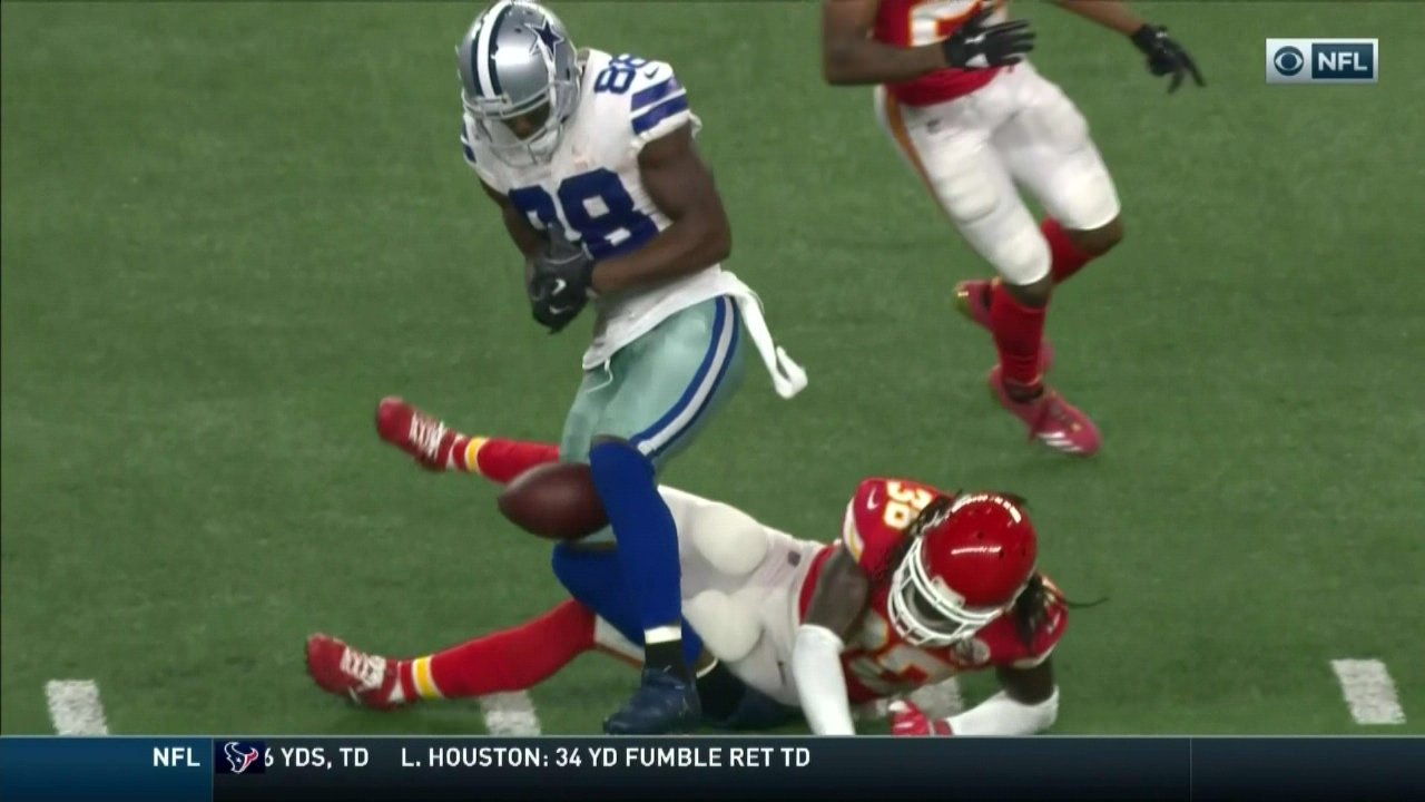 Cowboys vs Chiefs Dez Bryant suffers ankle injury SBNation