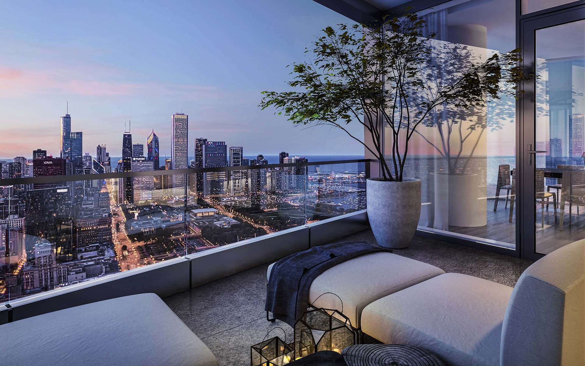71st Floor Penthouse In Helmut Jahn S 1000m Tower Wants