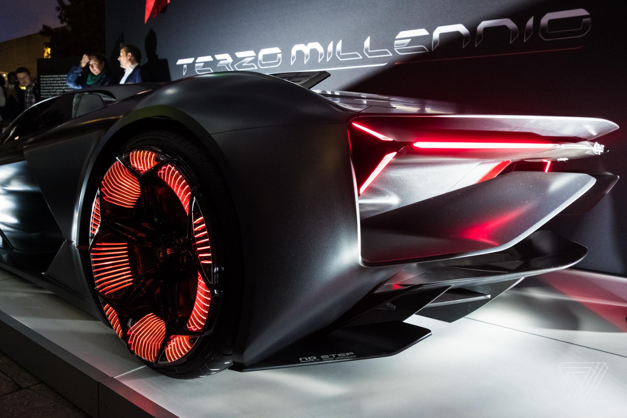The Lamborghini Terzo Millennio concept is a lightning ...
