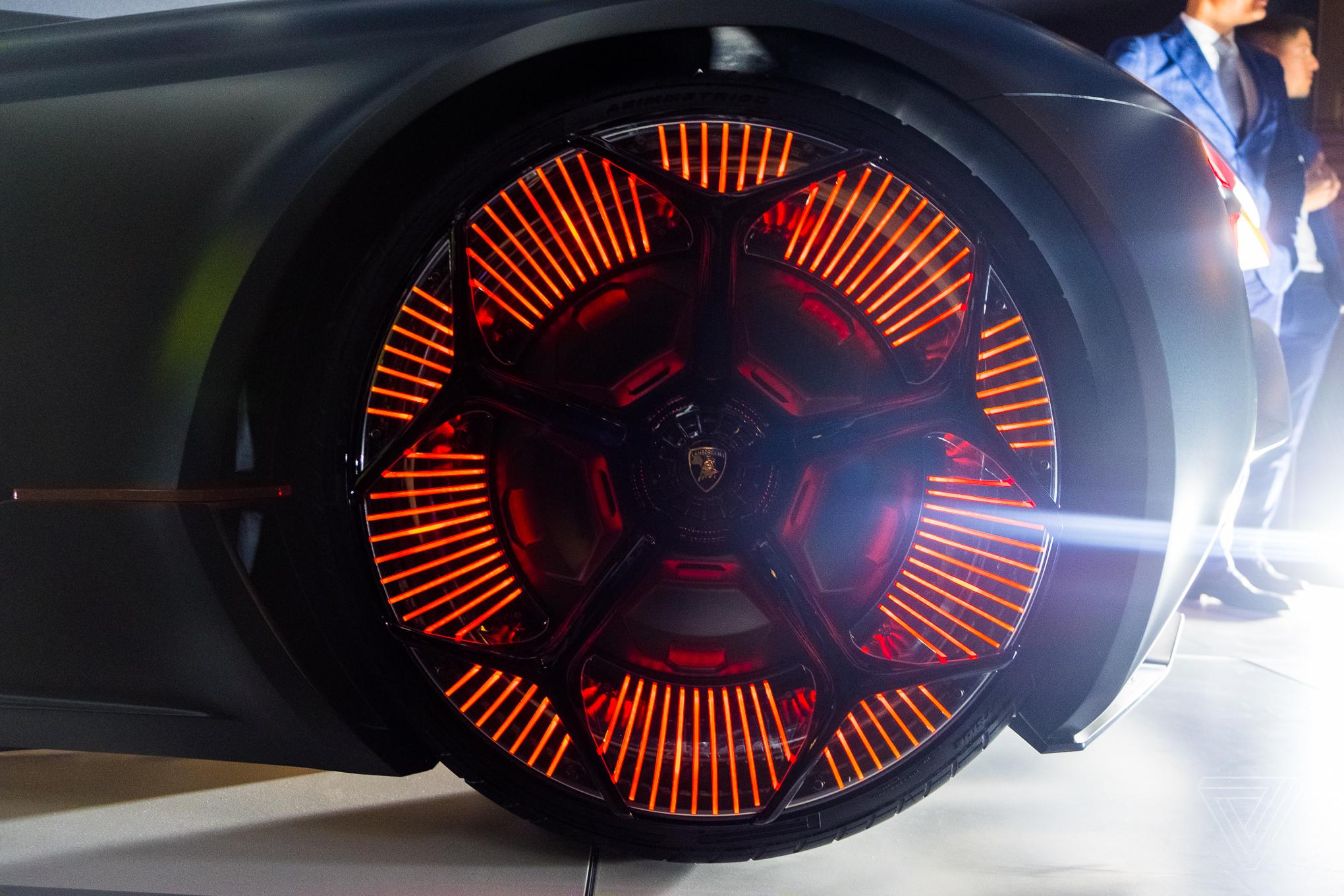 The Lamborghini Terzo Millennio Concept Is A Lightning