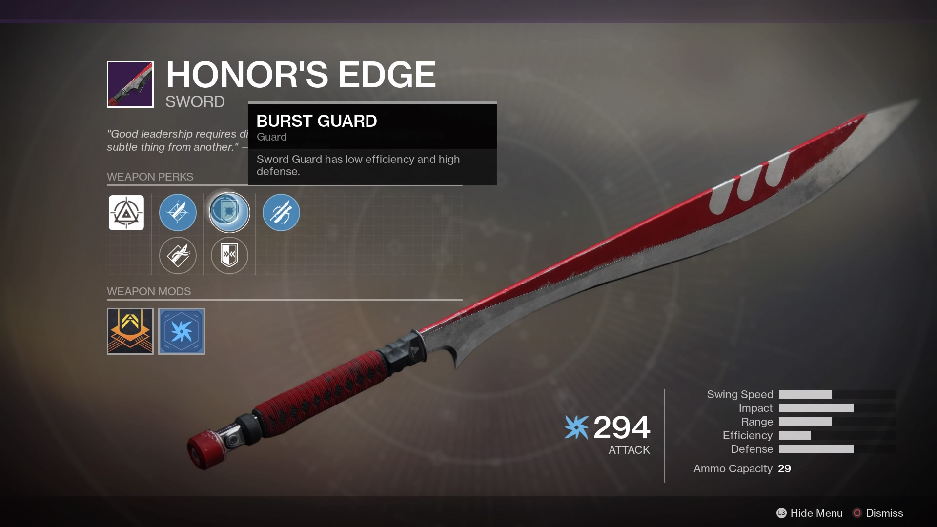 Destiny 2s Second Faction Rally Offers Fans A Tough Choice