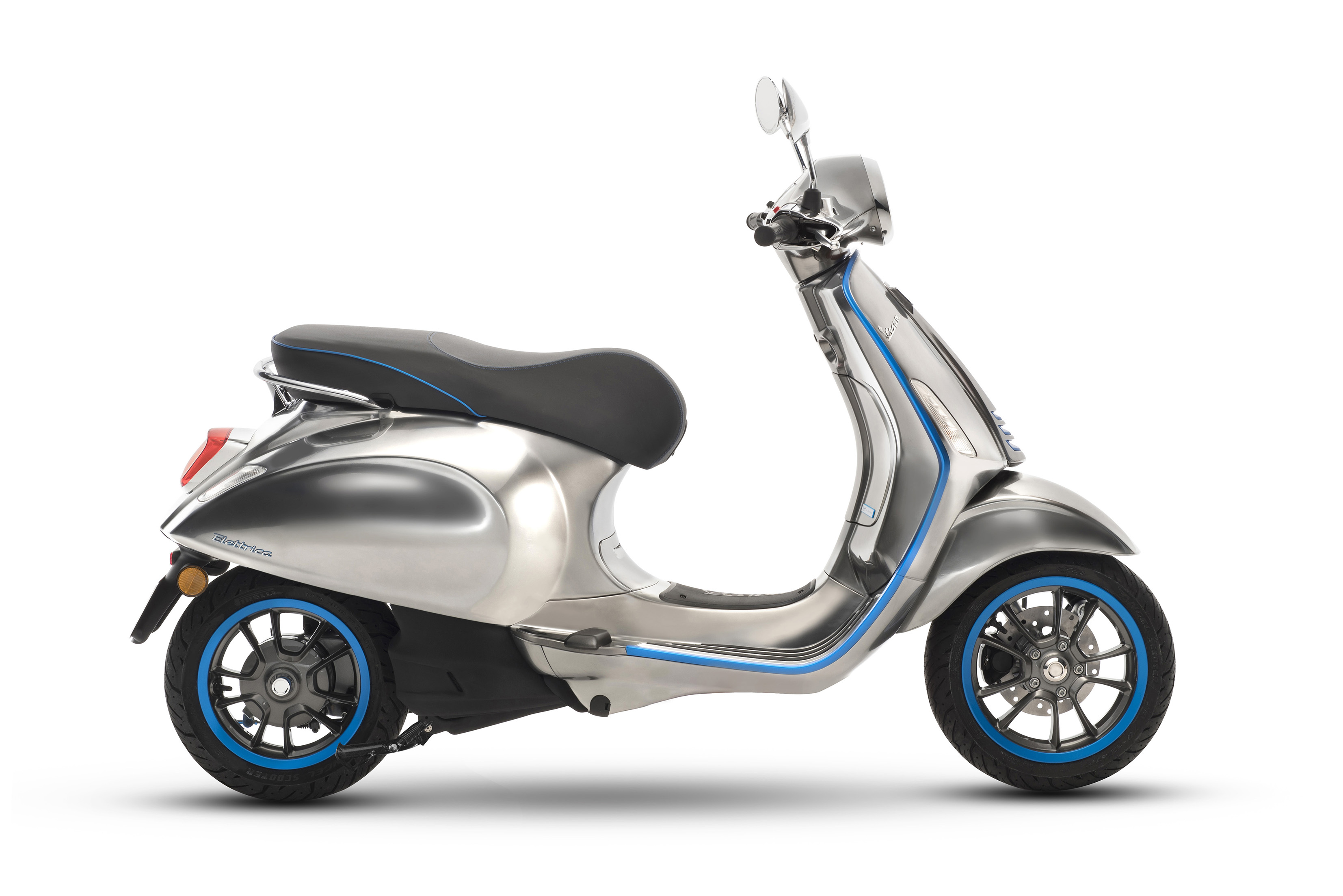 First Vespa Electric Scooter Coming Next Year