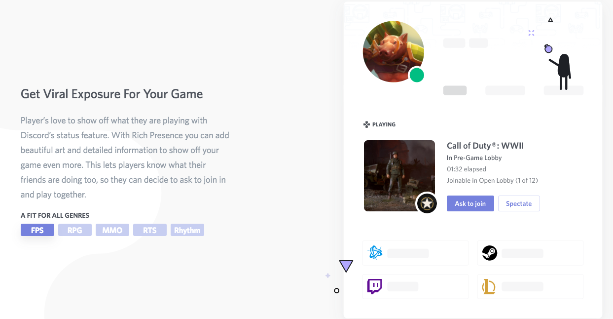 New Discord Feature Allows Joining Friends' Games From Chat Client