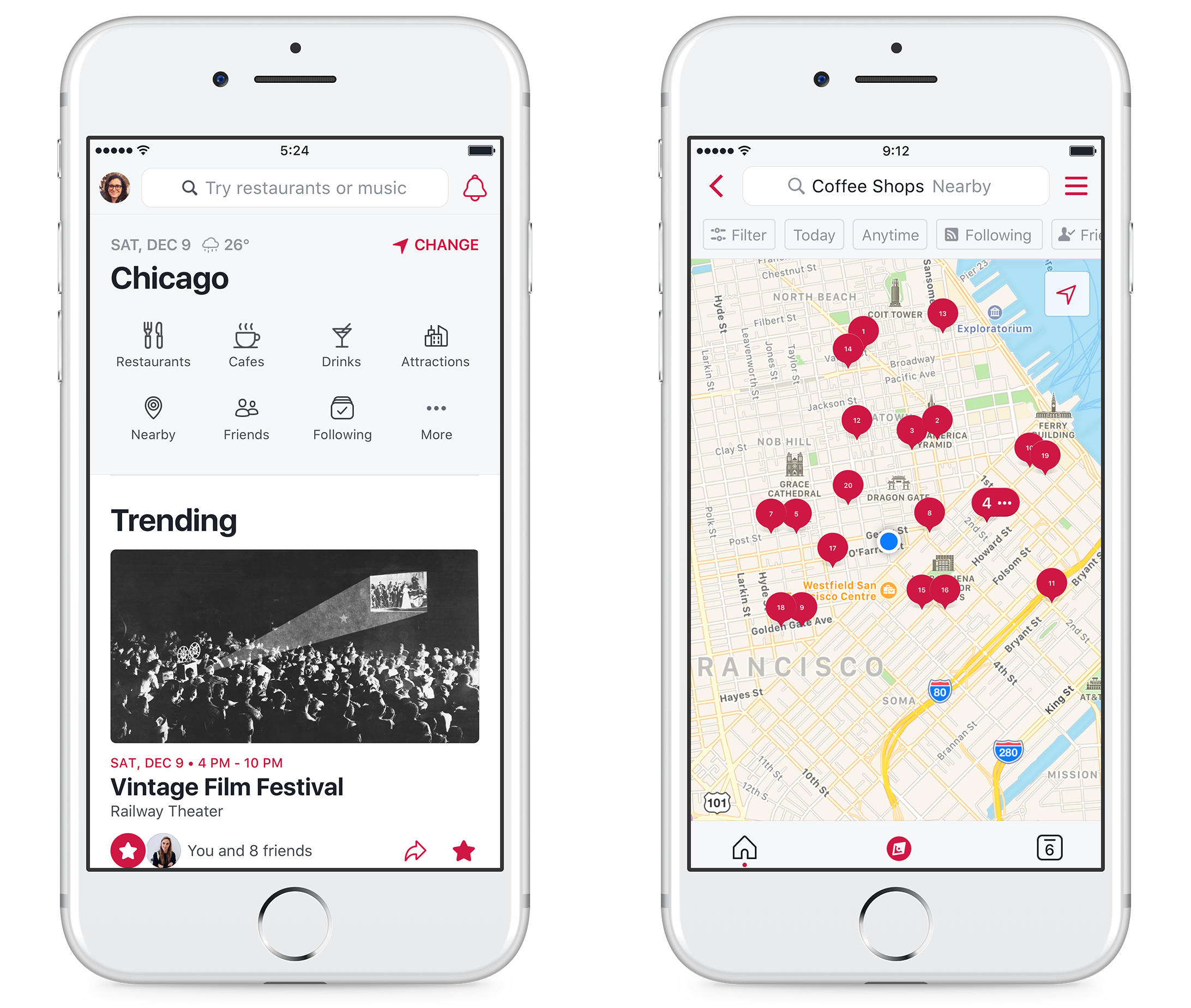 Facebook's 'Local' to bring together restaurants, events