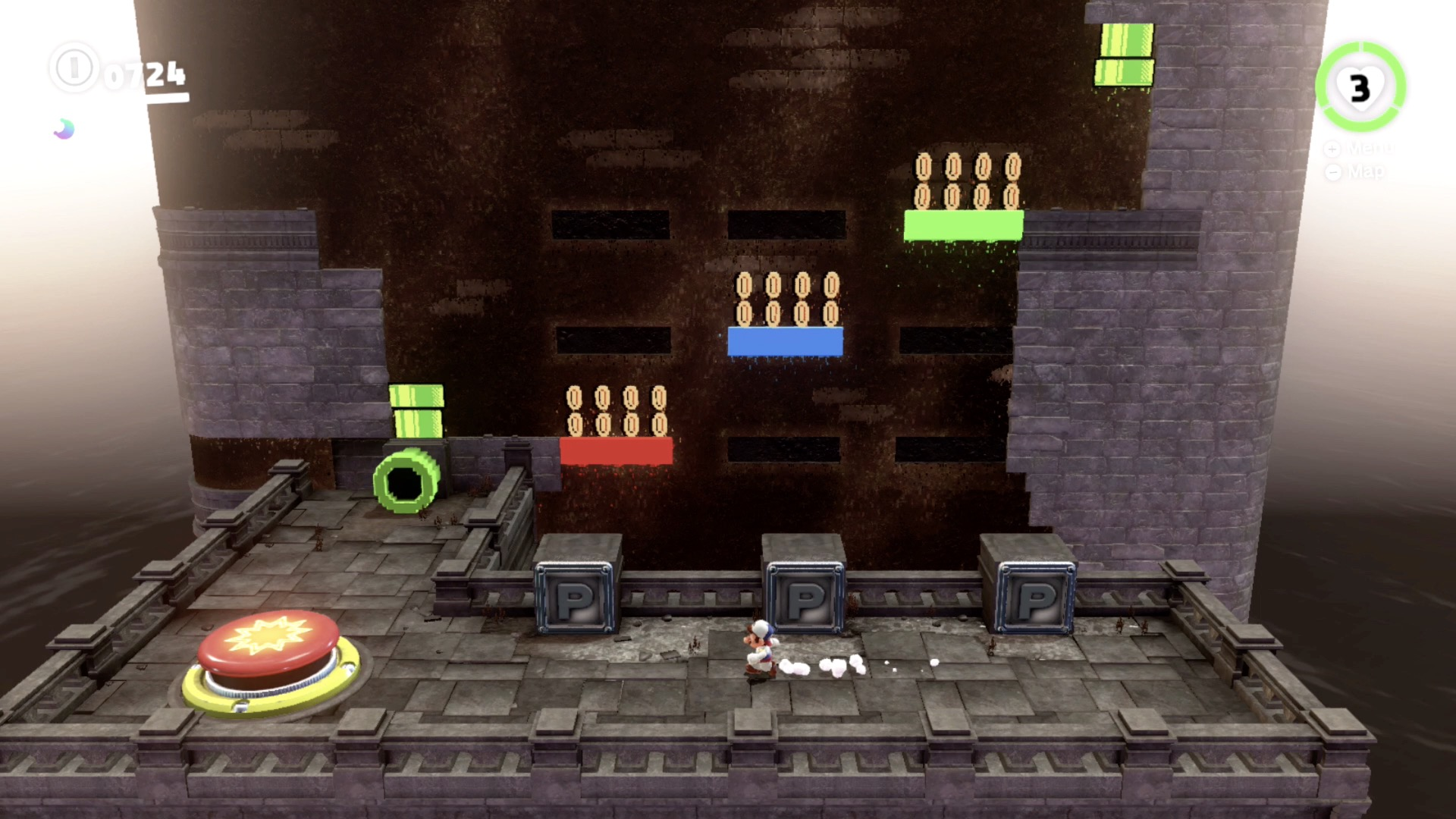 Super Mario Odyssey Guide Ruined Kingdom All Power Moon