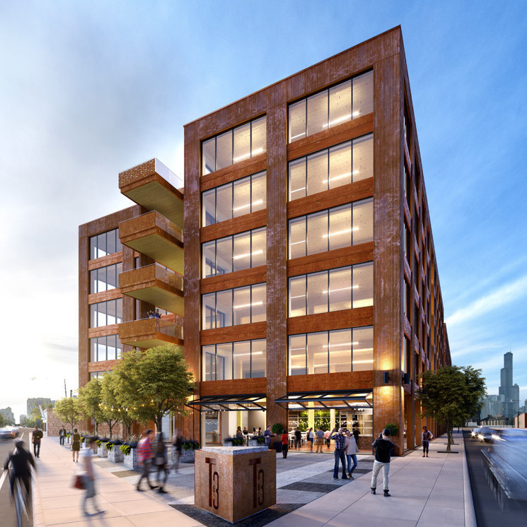 High Tech Wooden Office Building Planned For Chicago S