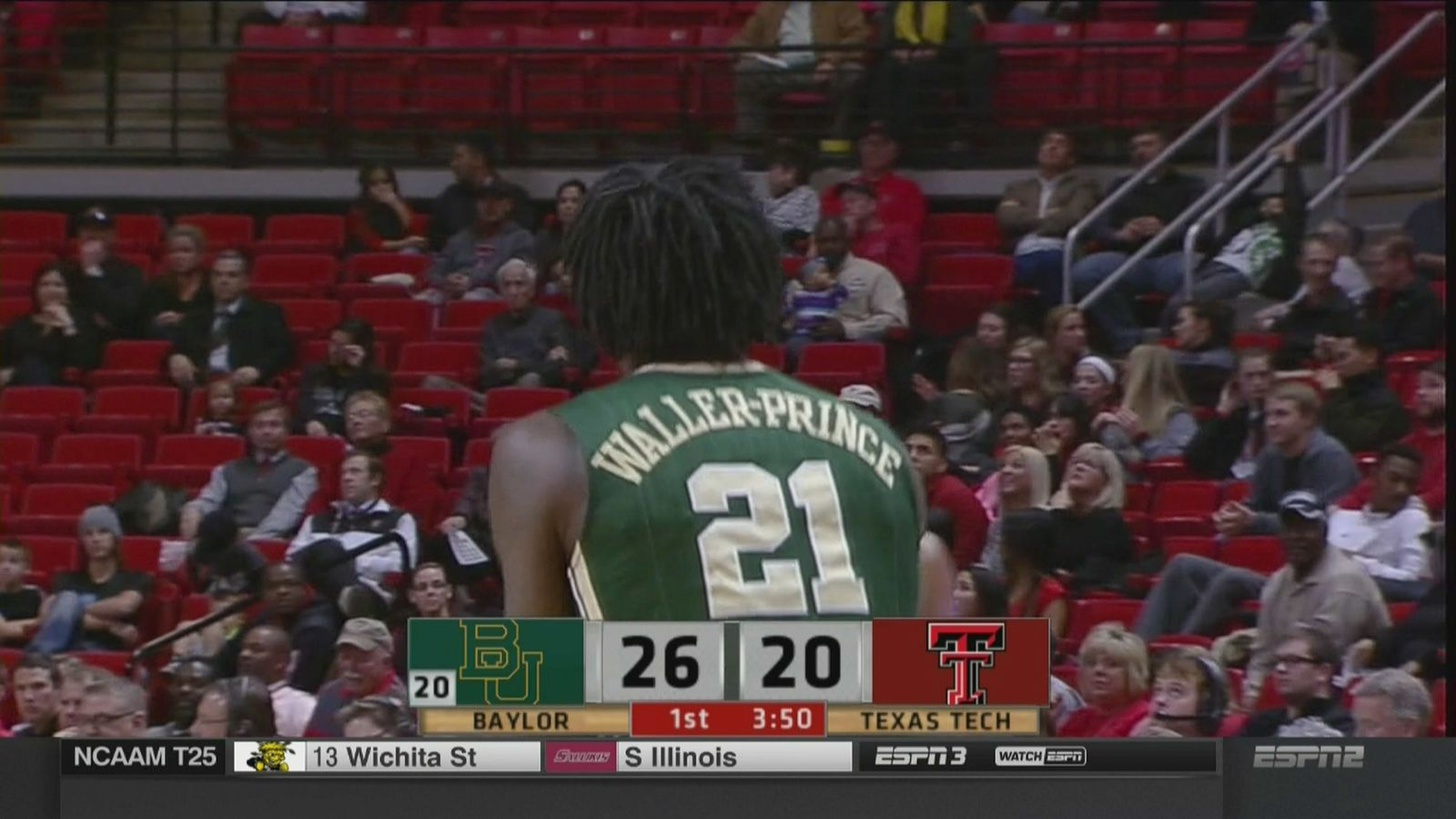 Texas Tech beats Baylor to snap losing streak
