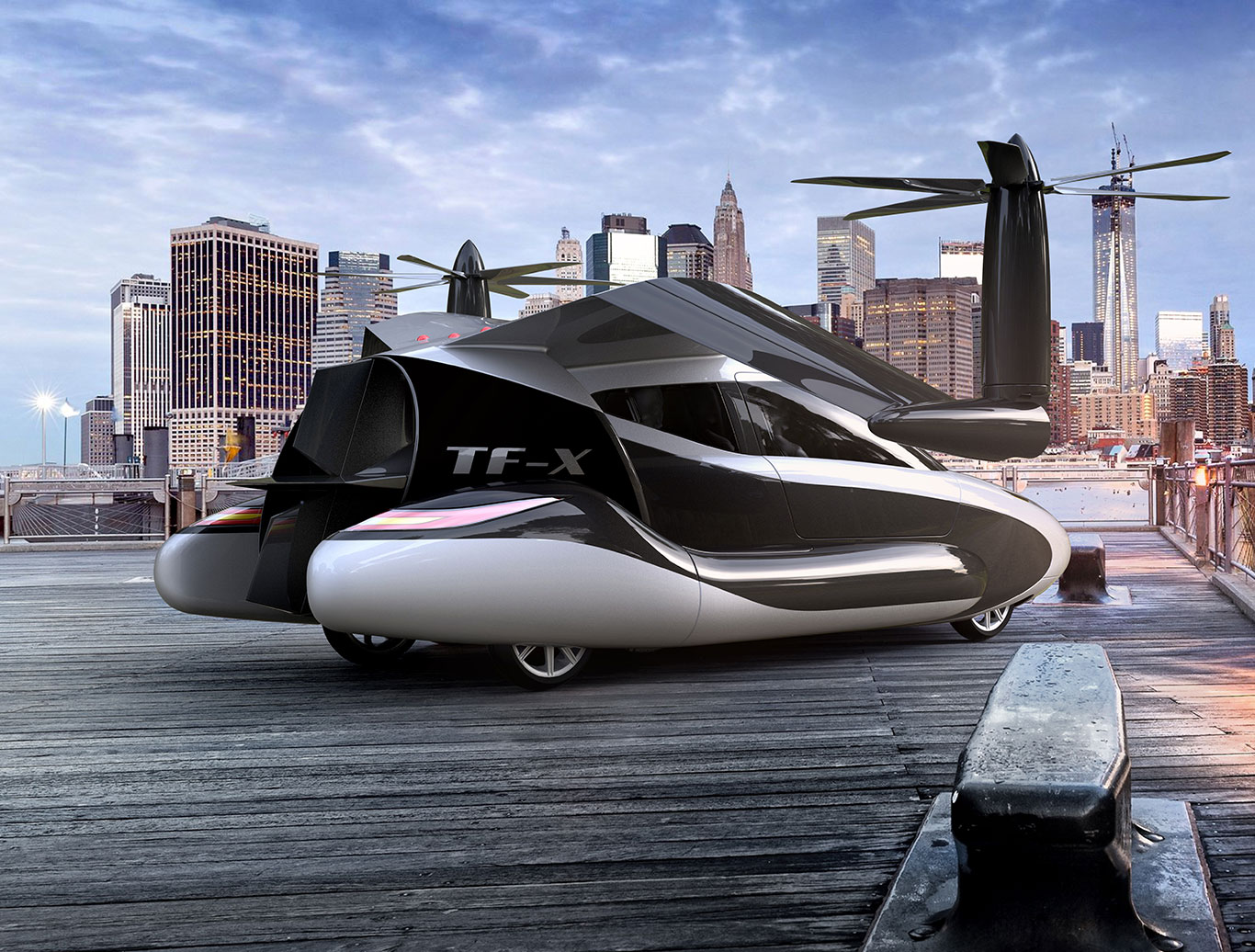 Volvo owner buys flying-car maker planning first model for 2019