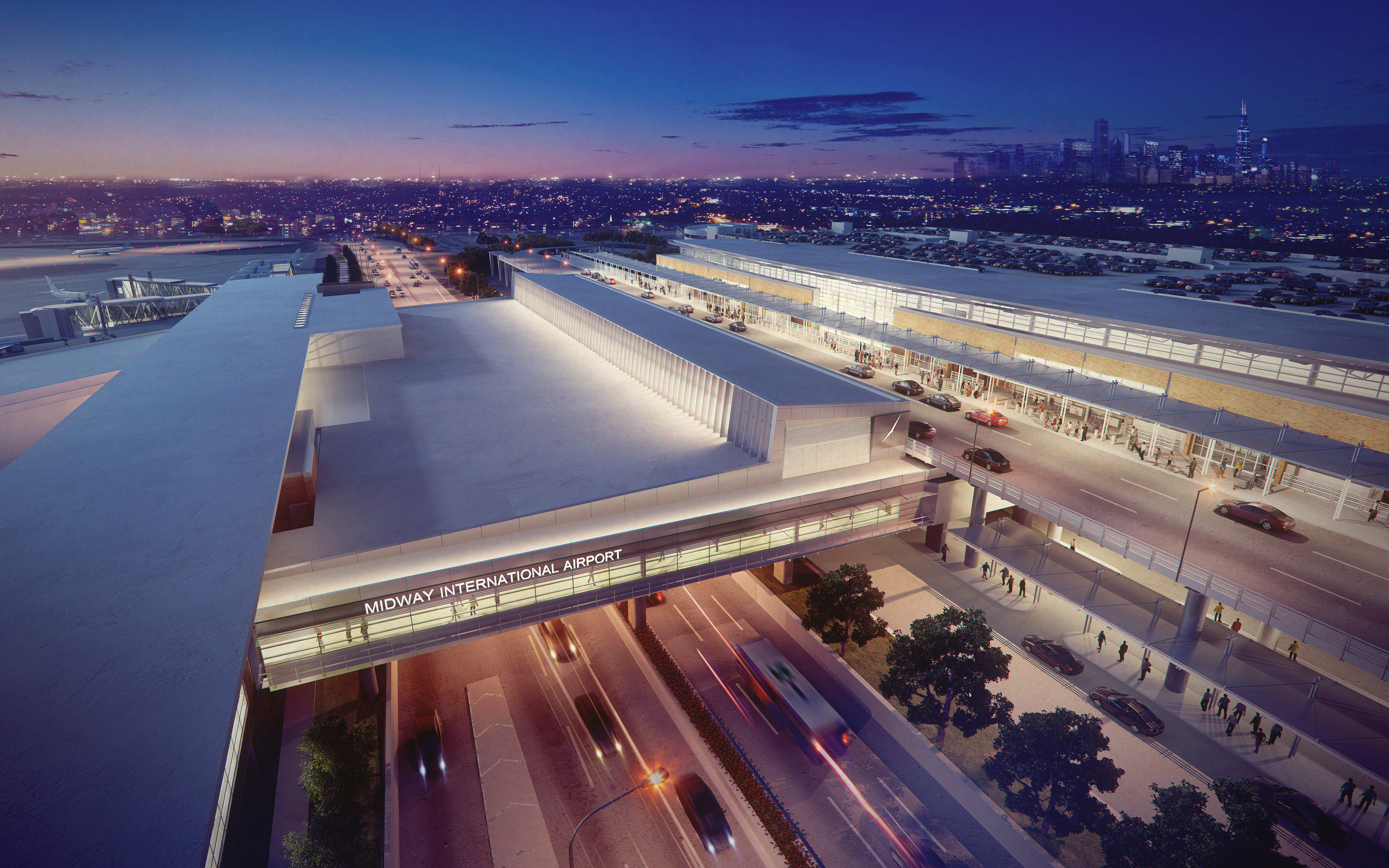 Work Underway On New New Security Pavilion At Midway