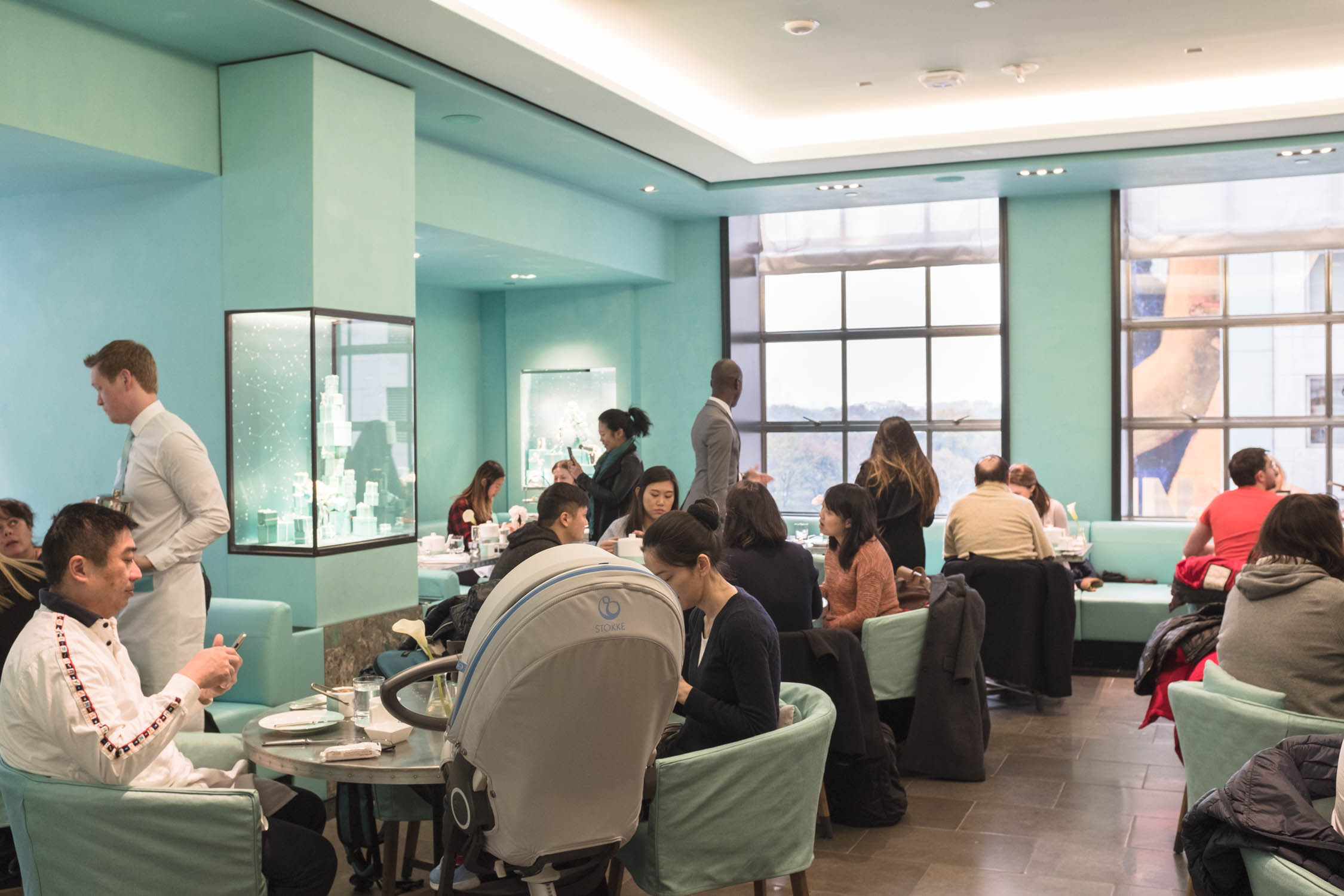 Robin S Egg Blue Cafe