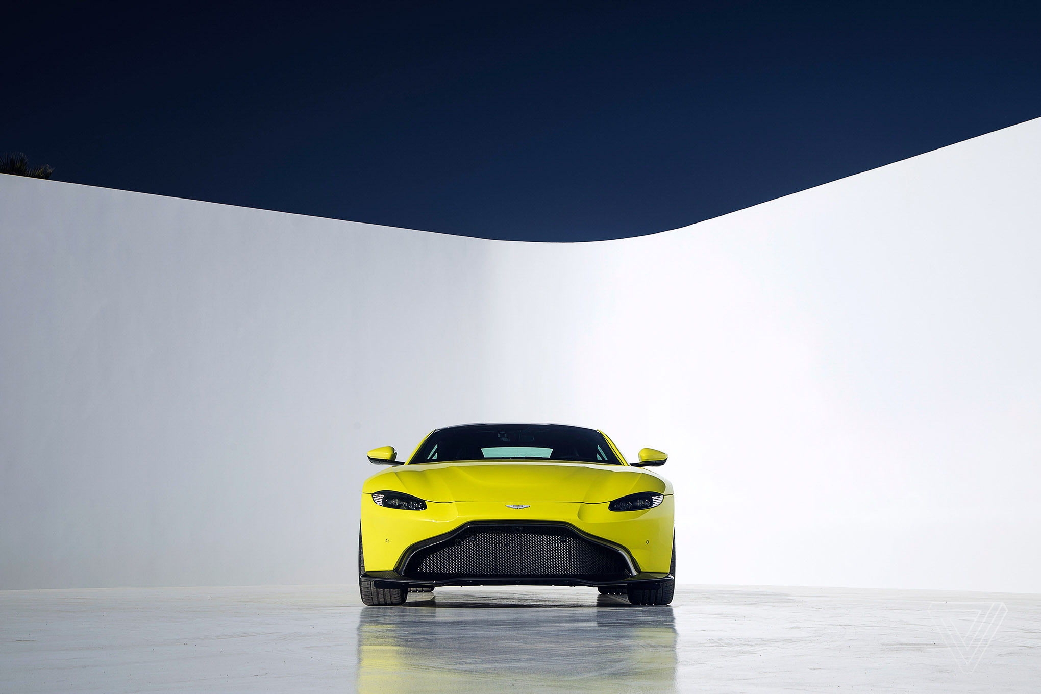 Aston Martin Vantage prepares to take on the Porsche 911