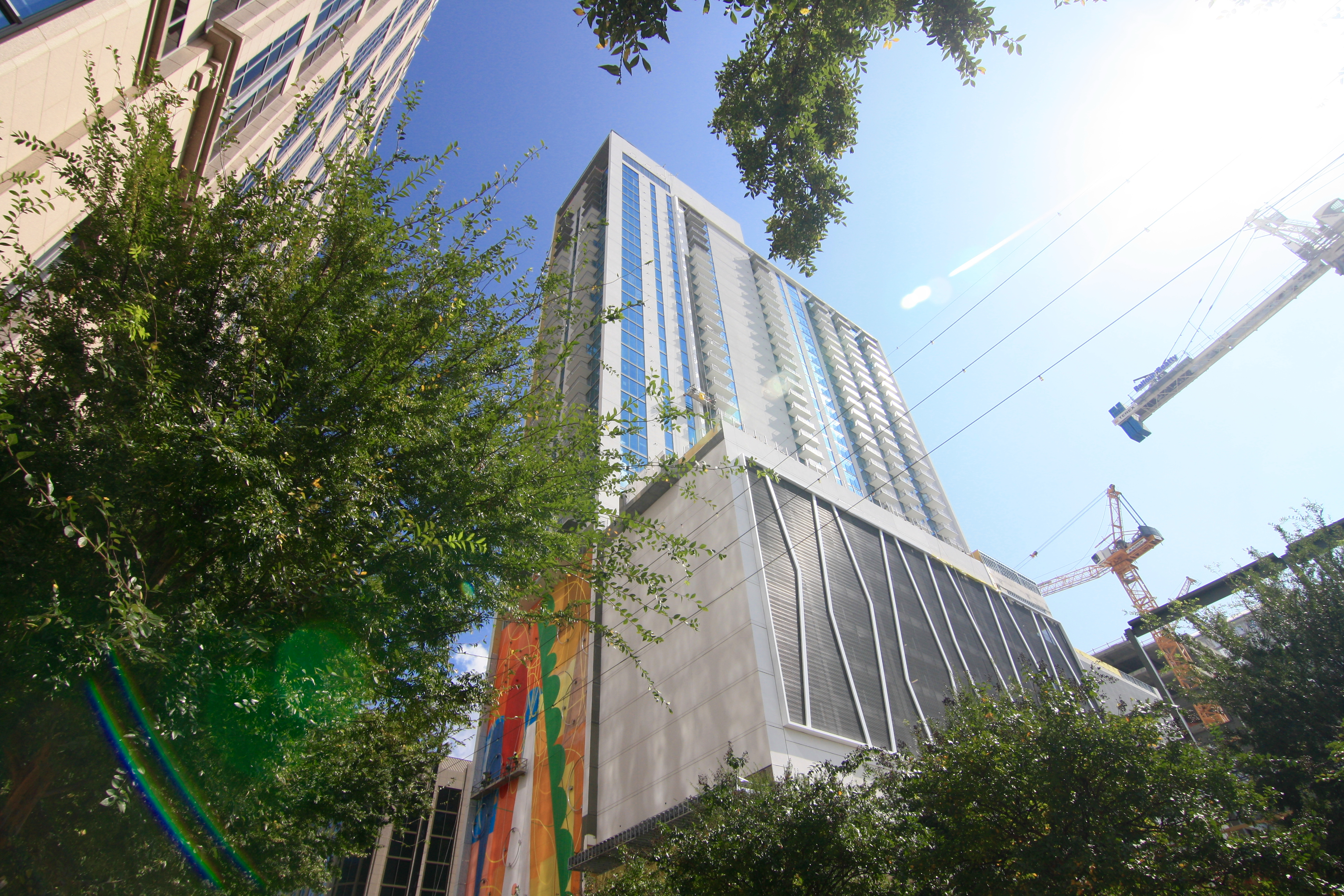 The Tower And Mural Project As Of Oct. 11. Photos: Josh Green, Curbed  Atlanta