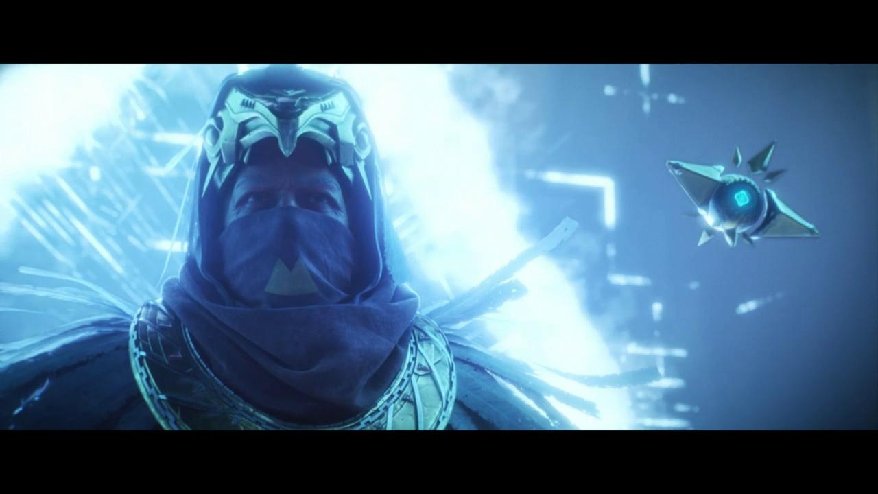 Destiny 2 Curse of Osiris- Osiris and Sagira in cinematic