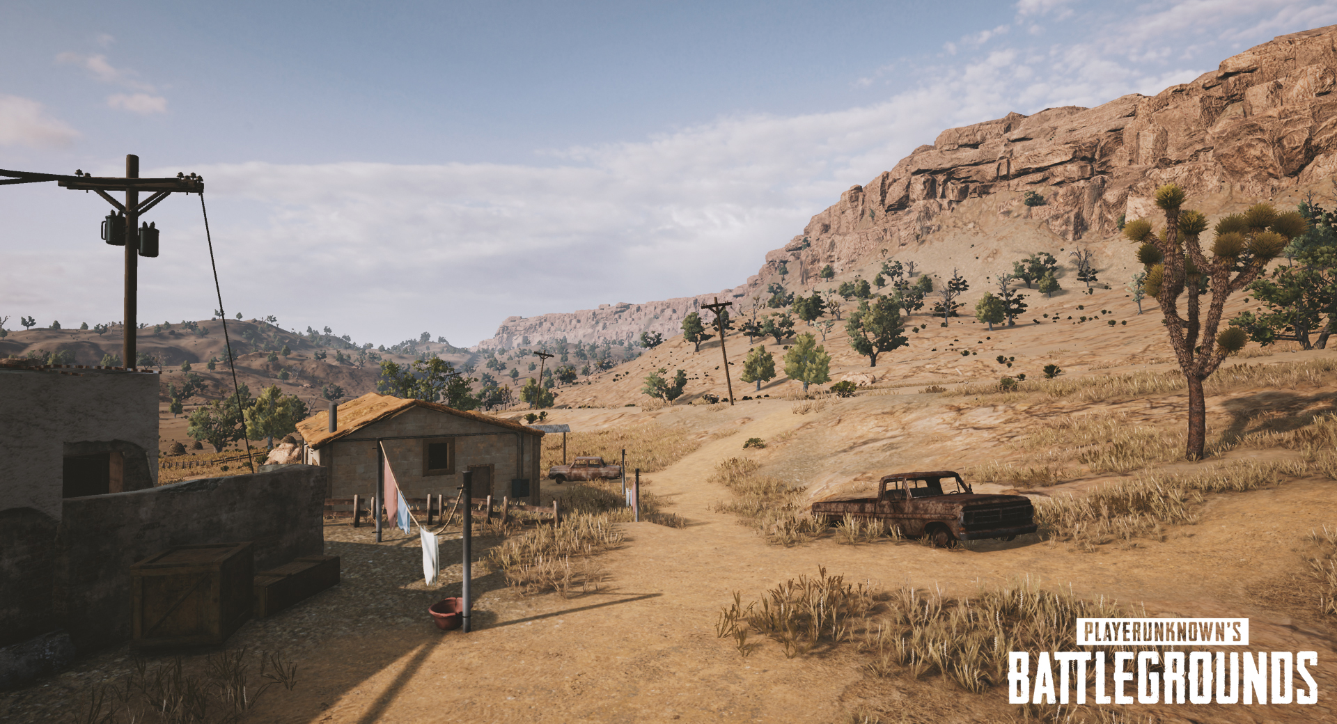 PUBG's Latest Test Build Reveals A Draft Of The New Desert