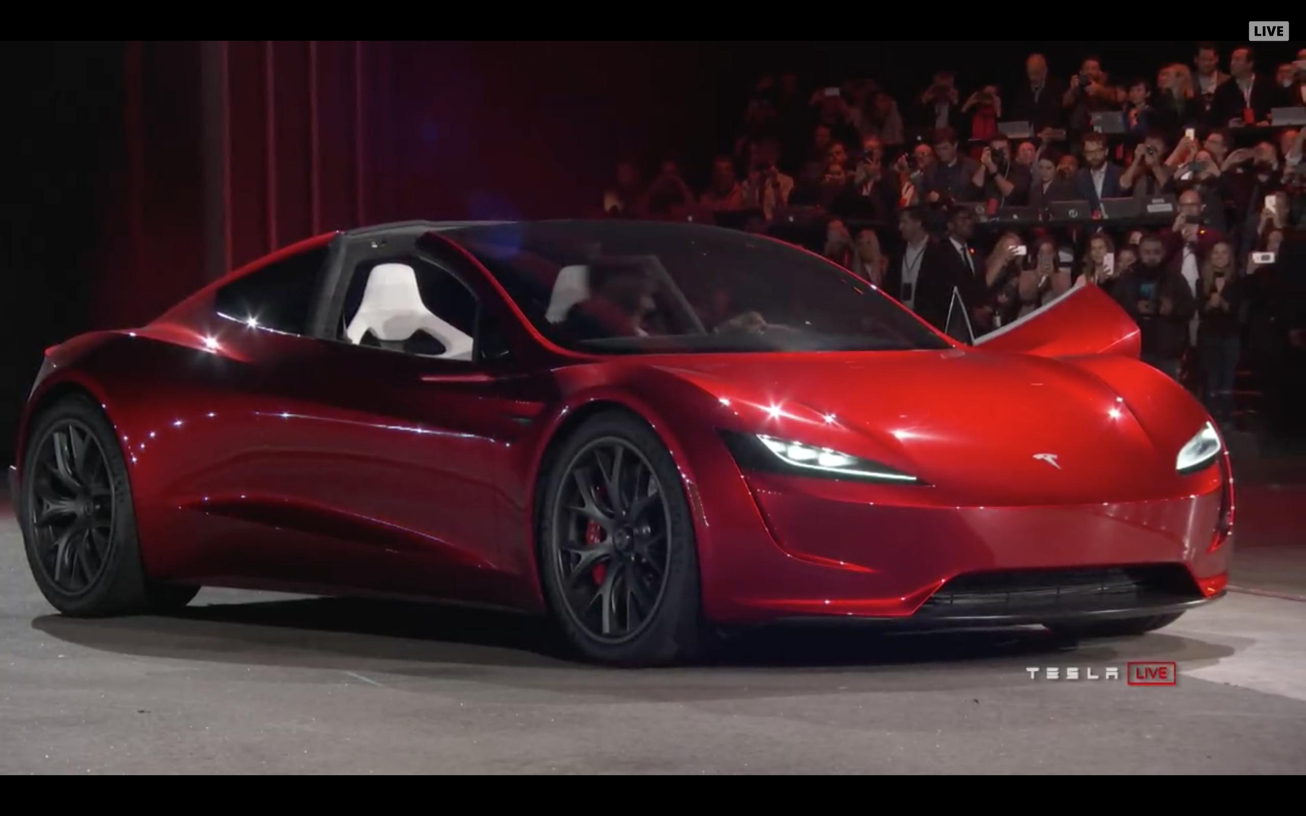 Tesla Roadster Fastest Electric Car