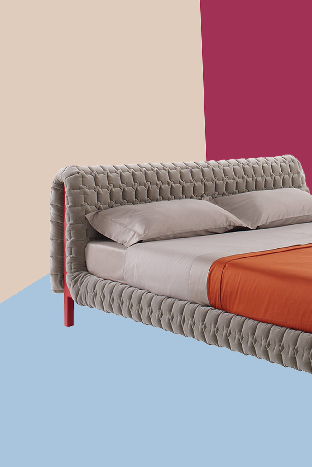 Ligne Roset  Ruch    4 560  Quilted upholstery draped over a solid wood  frame makes this a unique marriage of fashion and design. The best beds  side tables  and bedroom furniture to buy right now