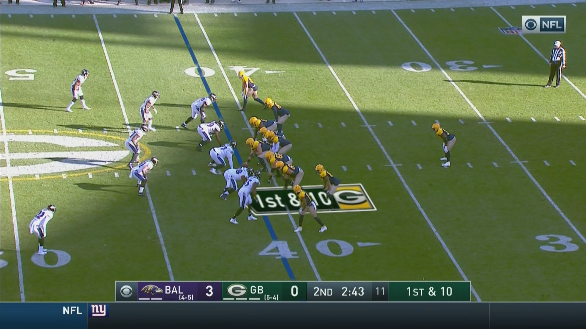 The Breakdown: Eisenberg's Five Thoughts vs. Green Bay Packers