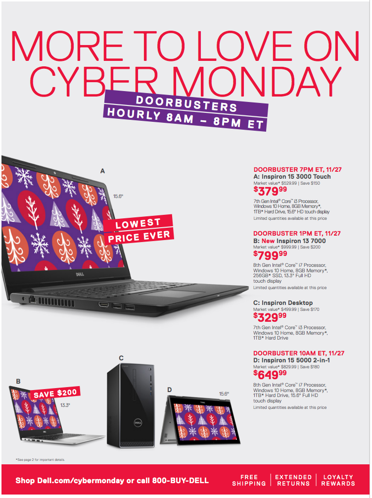 Dell Cyber Monday 2017: best deals on 4K TVs and gaming PCs