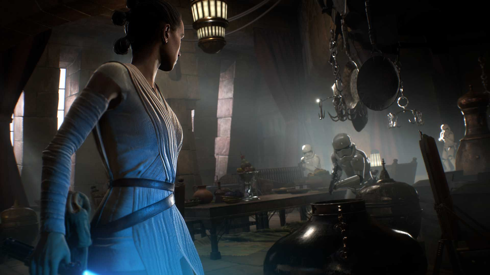 rey appears in battlefront 2