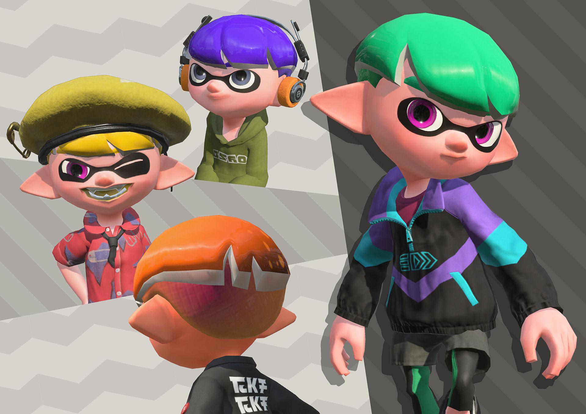Splatoon 2 Hairstyles: Splatoon 2 Update Coming This Week Raises Level Cap, Adds