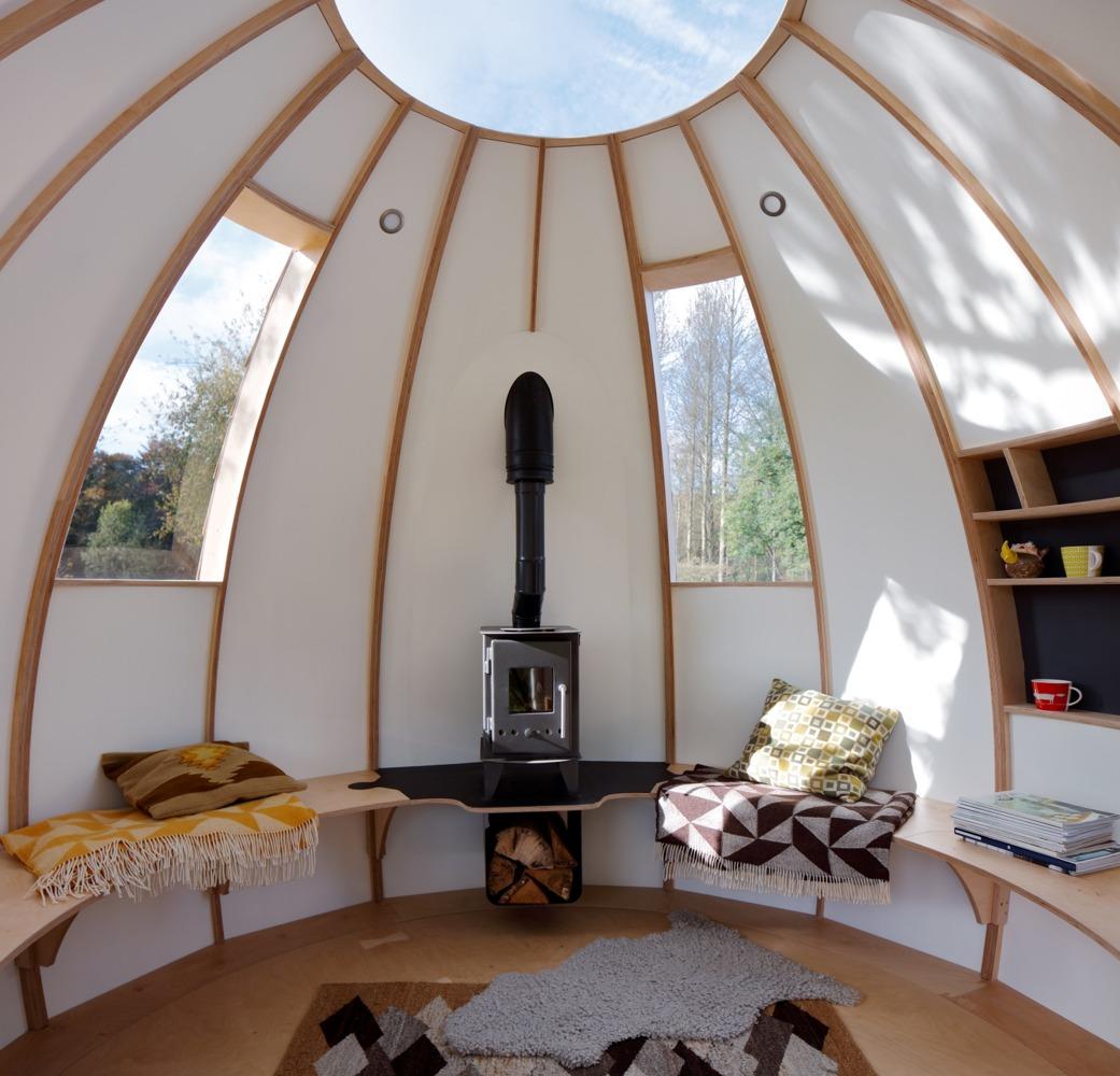 tiny house designed as a rotating u201cescape pod u201d curbed