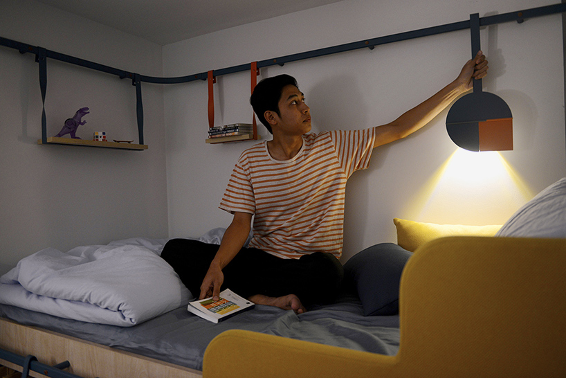 Flexible apartments offer efficient living for 7 students