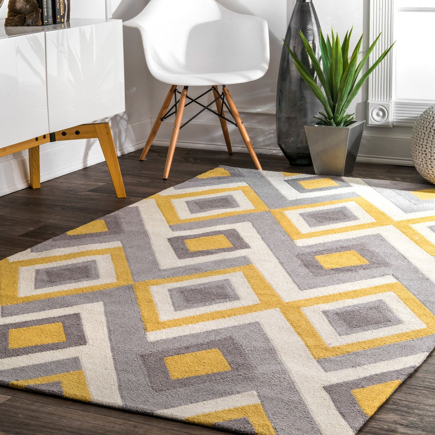Nuloom Contemporary Handmade Area Rug 7 Feet 6 Inch By 9 For 242 Usually 299 99