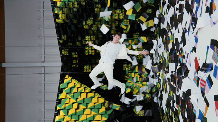 OK Go and 567 printers make for a colorful 'Obsession' video