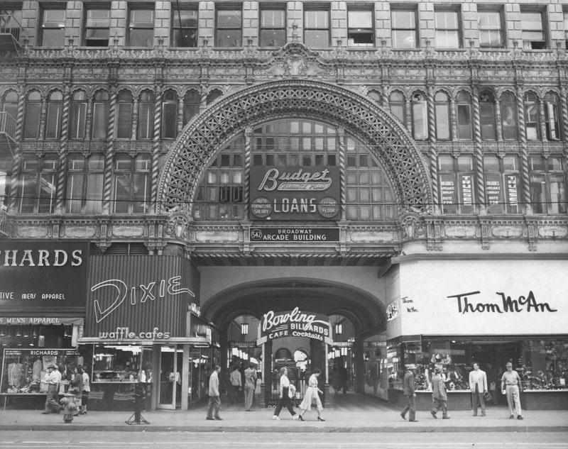 Downtown La Then And Now Photos From Ace Hotel To Grand