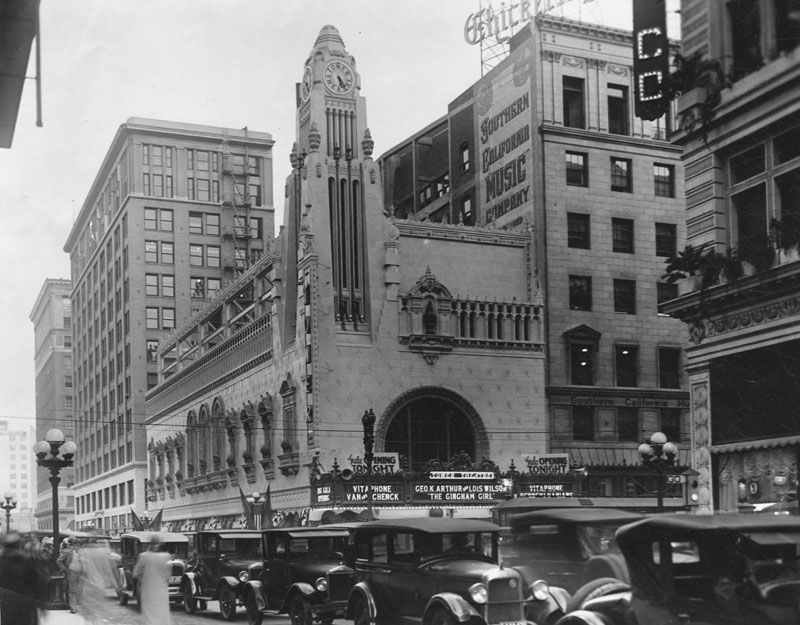 Downtown LA then-and-now photos, from Ace Hotel to Grand ...