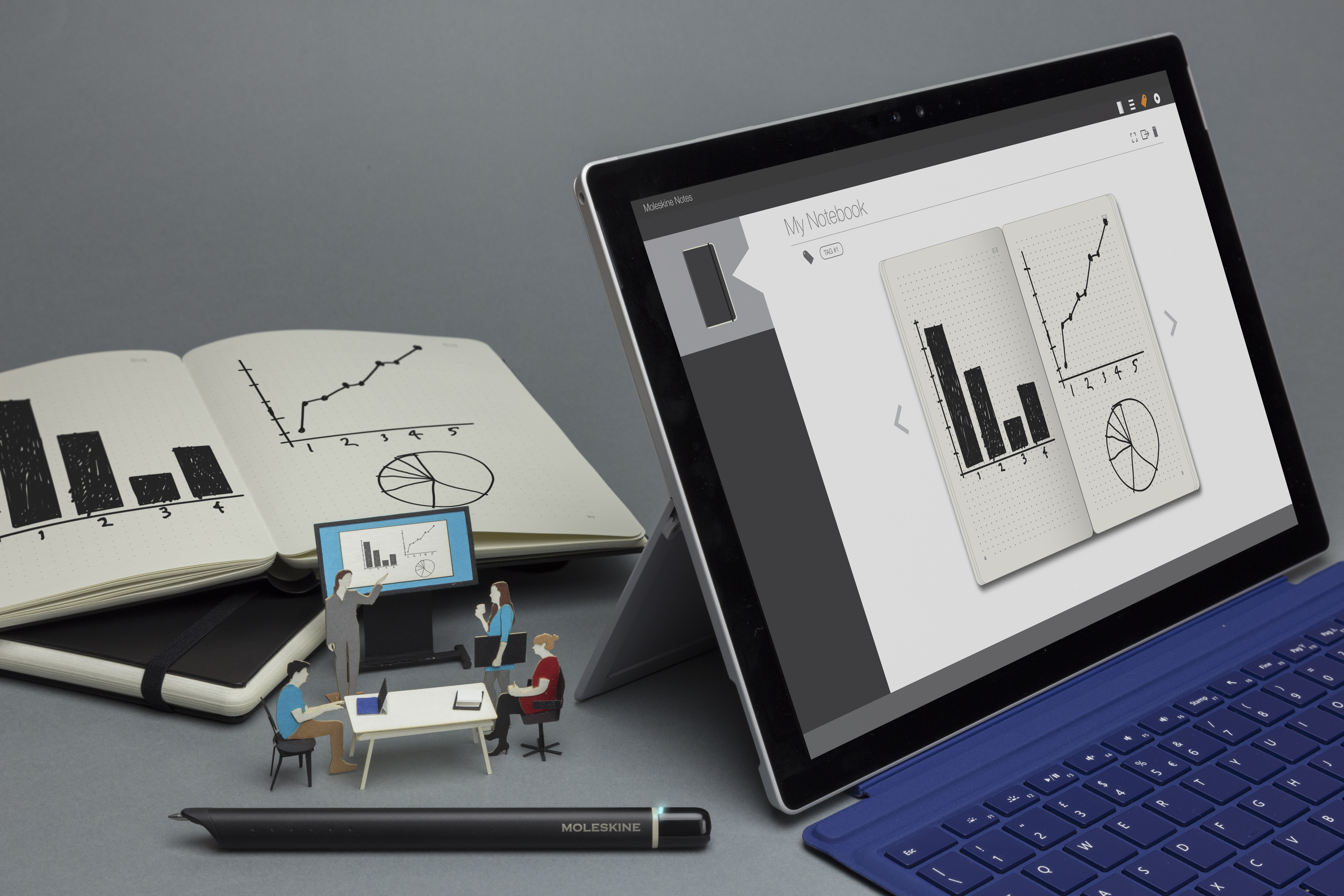 Replacement Windows Cost >> Moleskine's Smart Writing Set digitizes your notes for Windows 10 - The Verge