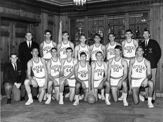 1966-67 Rutgers Scarlet Knights Basketball Team