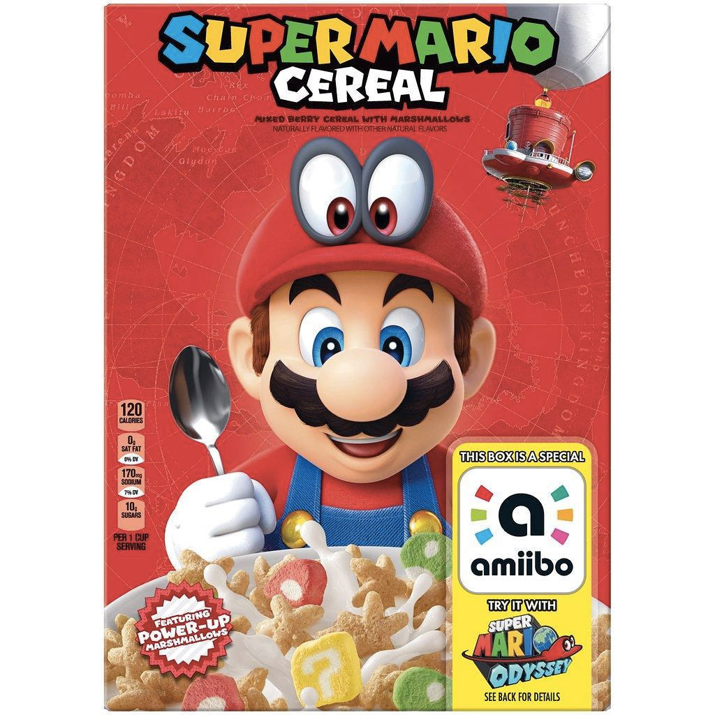 Super Mario Cereal Could Be A Real Thing