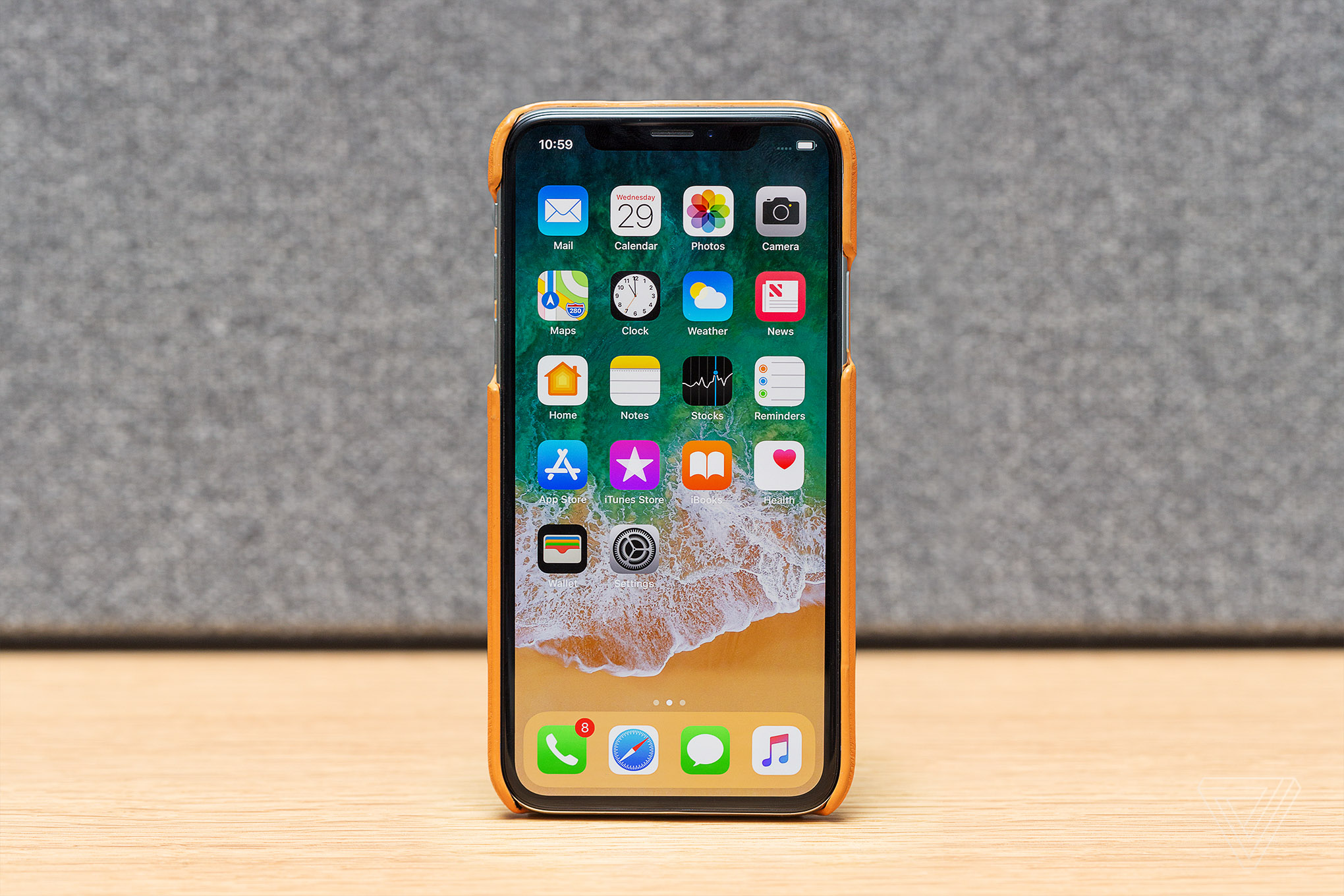 e25cf6625 Finding the best leather case for the iPhone X - The Verge