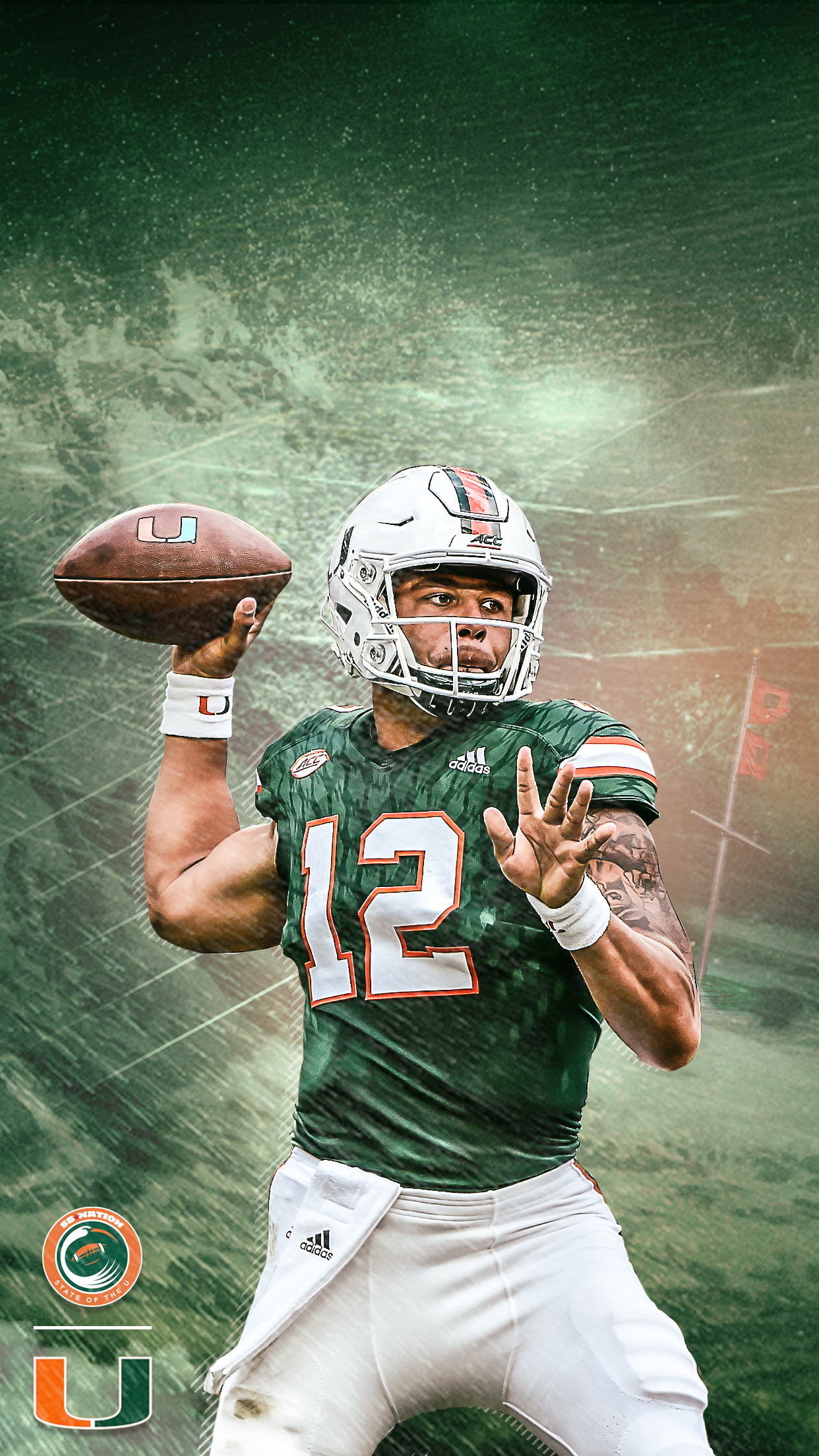 QB1 Getty Images Photo Mike Meredith State Of The U Illustration